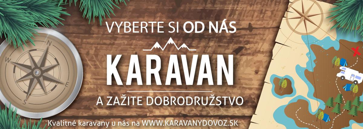 dovoz karavanov