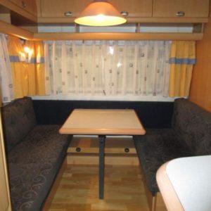 Hobby 440 SF francúzska posteľ, predstan
