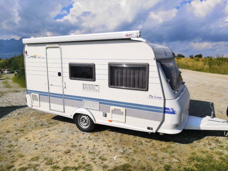 Hobby 400 SF 2001 (max. 1100 kg) + nova markiza